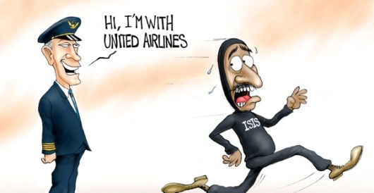 Cartoon of the Day: Fight or flight? by A. F. Branco