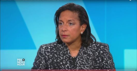 Susan Rice claims without evidence that Russia could be funding riots by Daily Caller News Foundation