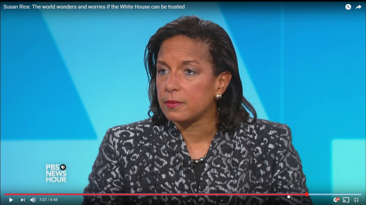 Susan Rice claims without evidence that Russia could be funding riots