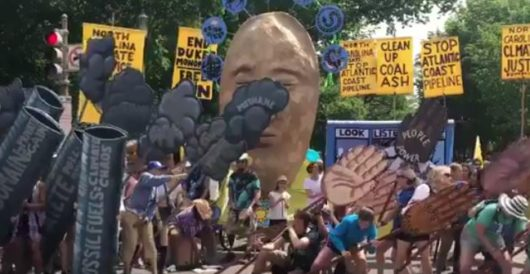 The most hilarious moment from yesterday's march to save the planet by Ben Bowles