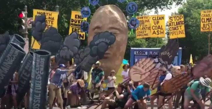 The most hilarious moment from yesterday's march to save the planet