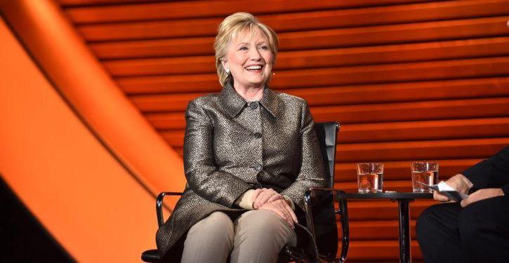 Hillary Clinton tells London audience she is 'worried' about Trump starting nuclear war