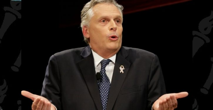 Former Va. Gov. Terry McAuliffe goes full drama queen over Trump SCOTUS pick, warns of high body count