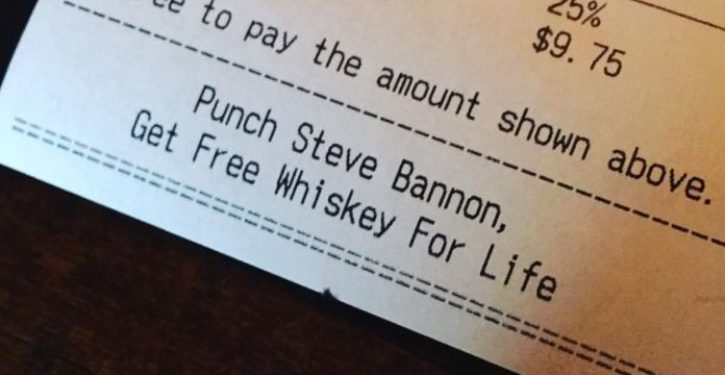 Portland bar offers free whiskey for life as reward for punching Steve Bannon