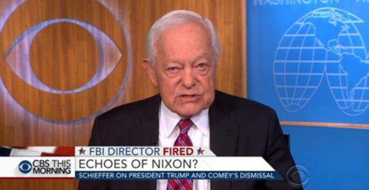 Gravitas: CBS's Bob Schieffer compares Comey firing to JFK assassination by Joe Newby