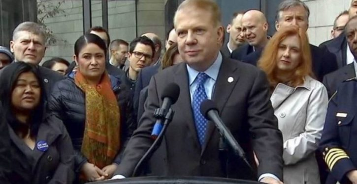 Seattle mayor to fight white privilege HOW?