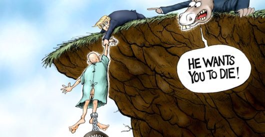 Cartoon of the Day: On the brink by A. F. Branco