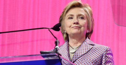 0 for 3? Hillary Clinton teases another run in 2020 by Jeff Dunetz