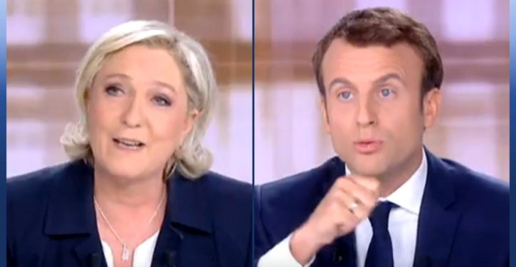 In French presidential debate, Le Pen is the one who spoke to France