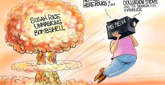 Cartoon of the Day: Mother of all media cover-ups by A. F. Branco