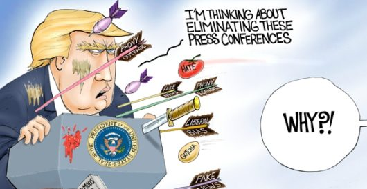 Cartoon of the Day: Under siege by A. F. Branco