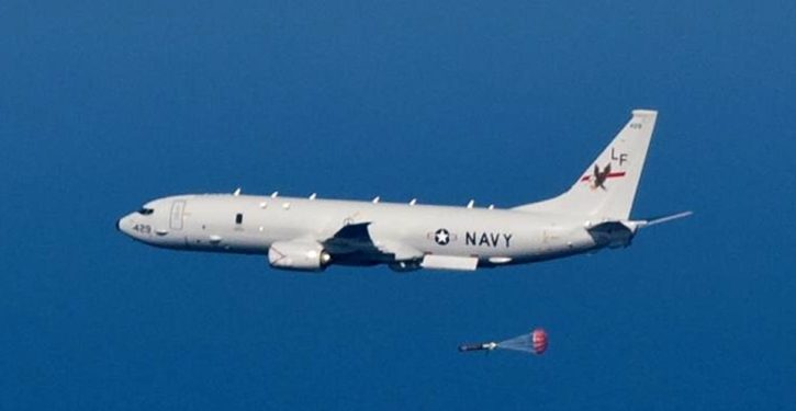 AAM-armed Russian fighter flies within 20 feet of U.S. Navy reconnaissance plane