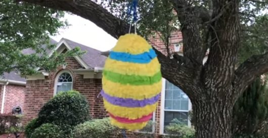 For Cinco de Mayo, teacher has students smash piñata modeled on whom? by Ben Bowles