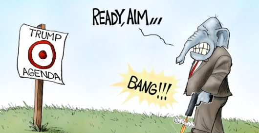 Cartoon of the Day: Within range by A. F. Branco