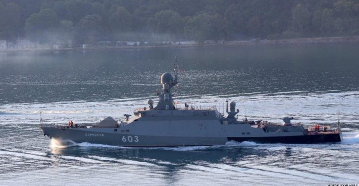 Probe: Russian warships enter Latvian territorial waters uninvited