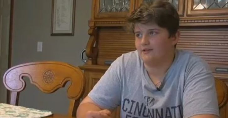 Middle school student suspended for 10 days; this is his 'offense'
