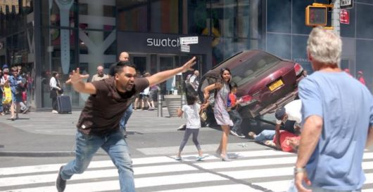 Times Square 'accident' that killed one and injured 20 more was no accident by Howard Portnoy
