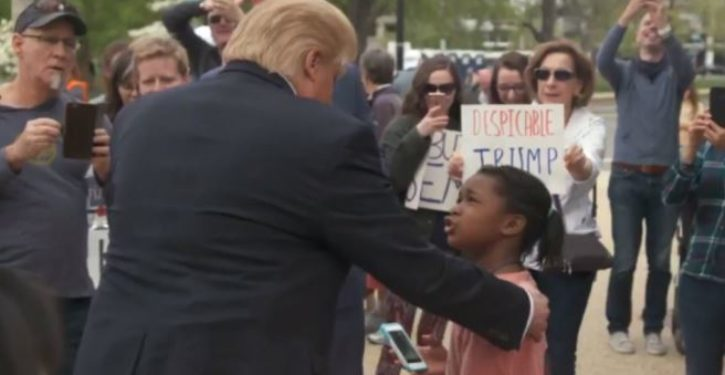 Fake viral video showing girl standing up to Trump fools thousands