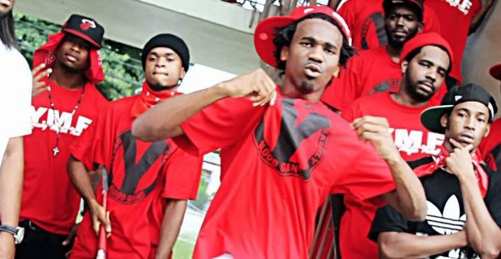 Biggest gang sweep in city history nabs 83 'Bloods'