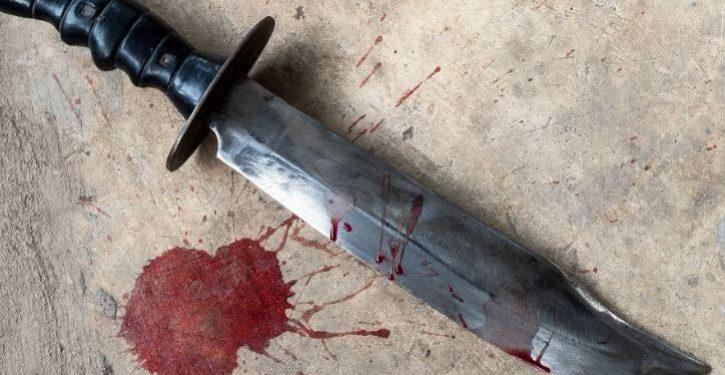 Terrorist knifeman shouting 'Allahu Akbar' shot dead in Paris after killing one