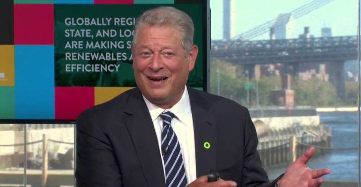 Guess what Al Gore thinks is fueling political unrest in Europe