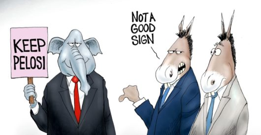 Cartoon of the Day: Signs of the times by A. F. Branco