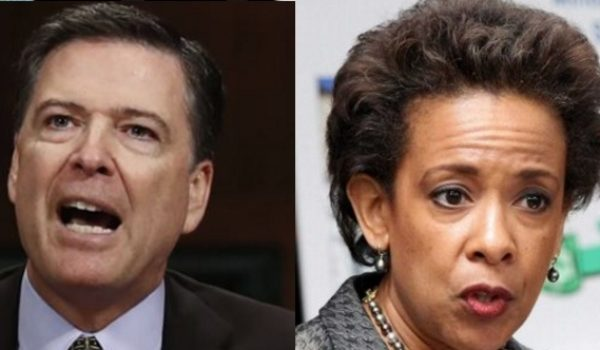 Bombshell: Transcripts show Obama AG Loretta Lynch accusing James Comey of lying under oath by Rusty Weiss