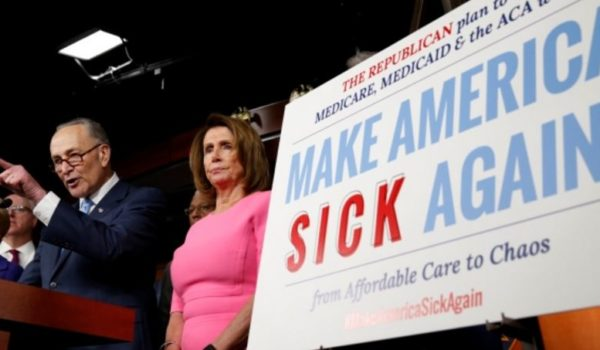 Dems react to GOP healthcare bill with same hate-filled rhetoric that incited Scalise shooting by Jeff Dunetz