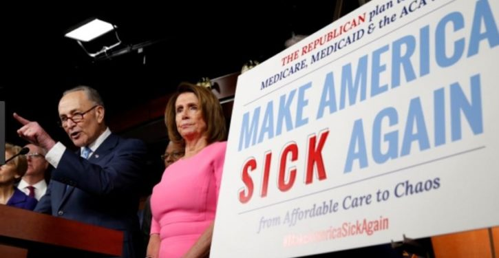 Dems react to GOP healthcare bill with same hate-filled rhetoric that incited Scalise shooting