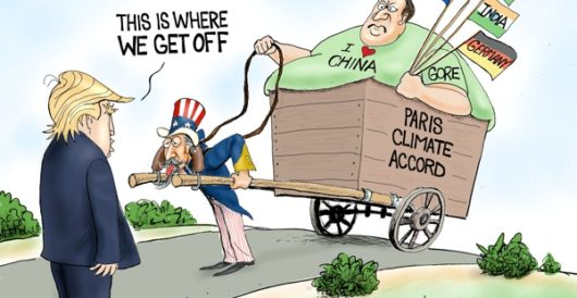 Cartoon of the Day: Beast of burden by A. F. Branco