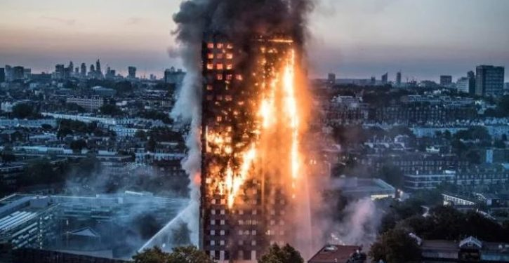 Islamist claims Grenfell Tower 'raging inferno' victims were 'murdered by Zionists'