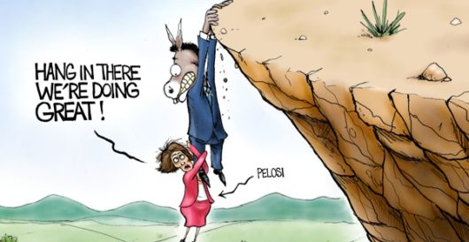 Cartoon of the Day: Leading from behind by A. F. Branco