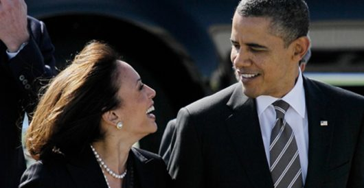 Kamala Harris urges 'Harvey relief' donations to political advocacy groups – via Obama bundler by J.E. Dyer
