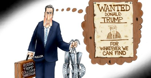 Cartoon of the Day: In search of a crime by A. F. Branco