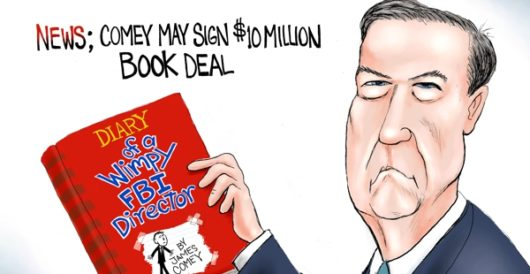 Cartoon of the Day: New York Times #1 best leaker by A. F. Branco