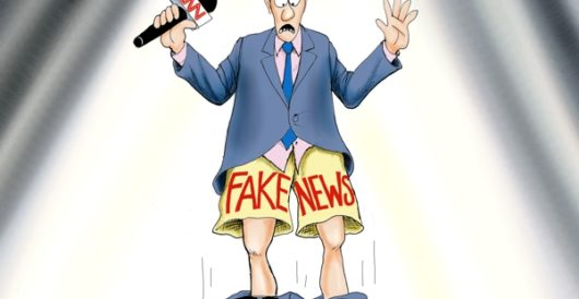 Cartoon of the Day: Fake out(ed) by A. F. Branco