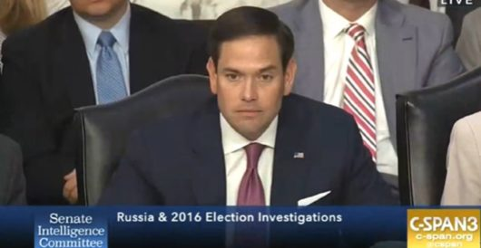 Marco Rubio: Wear a mask to prevent the spread of COVID-19 by Hans Bader
