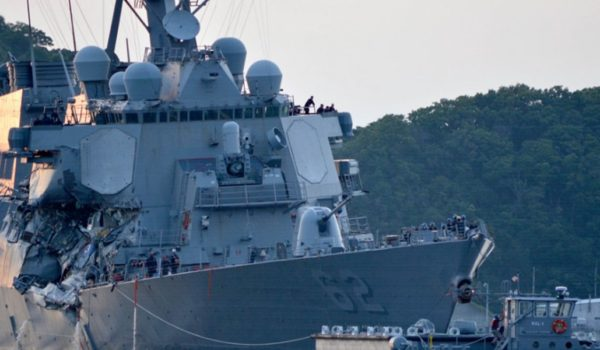 Report: Navy to relieve Seventh Fleet commander after string of at-sea accidents by LU Staff