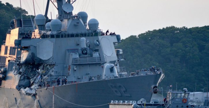 Navy investigation indicates USS Fitzgerald at fault for fatal collision with container ship