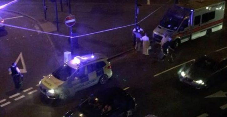 London: Van runs down pedestrians outside mosque; 1 dead, 10 inured
