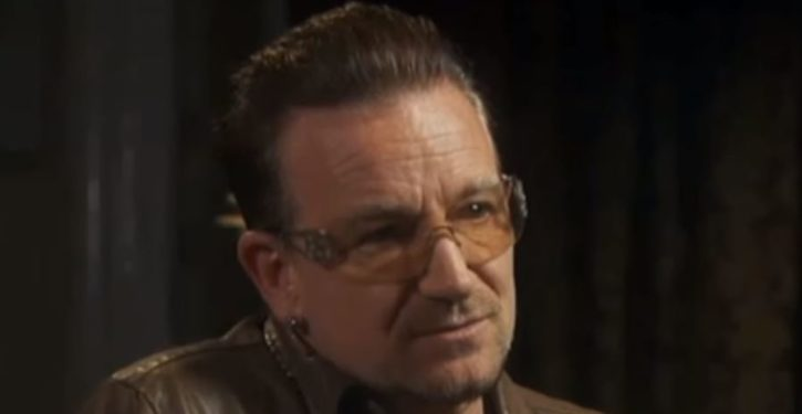 Bono calls capitalism 'amoral' and 'a wild beast' during world economic forum