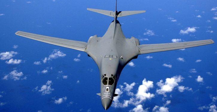 U.S. exercises strategic bombers over Korean Peninsula after North Korean missile test