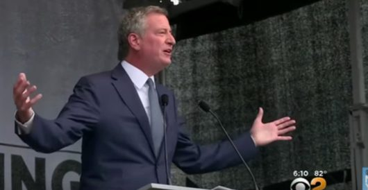 De Blasio, keynote speaker at G20 protest, wants world to know Americans don't align with Trump by J.E. Dyer