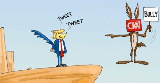 Cartoon bonus: Foiled again … and again by A. F. Branco