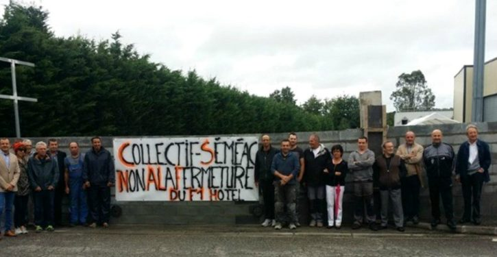 France: Locals build wall around planned migrant accommodation