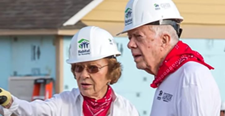 Jimmy Carter, 92, collapses at Habitat for Humanity building site in Winnipeg