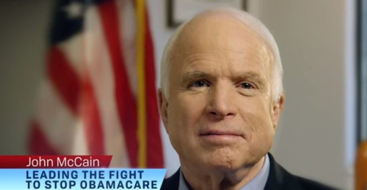 Poll: McCain's favorability skyrockets with Democrats