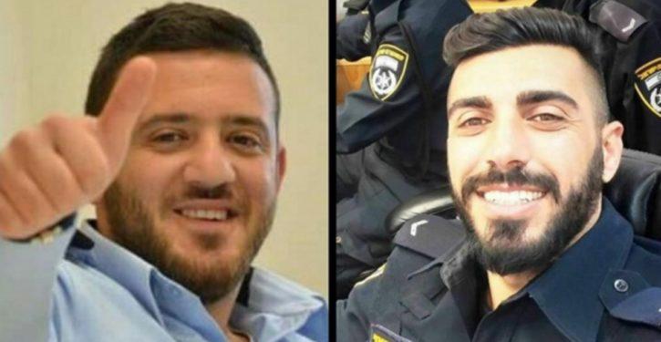 Arab terrorists kill two Israeli policemen in attack at Temple Mount