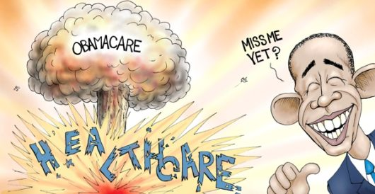Cartoon of the Day: O-bomb-a-care by A. F. Branco