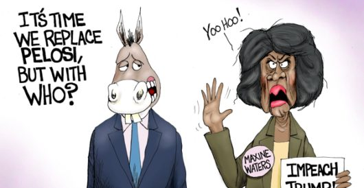 Cartoon of the Day: Crazy and crazier by A. F. Branco